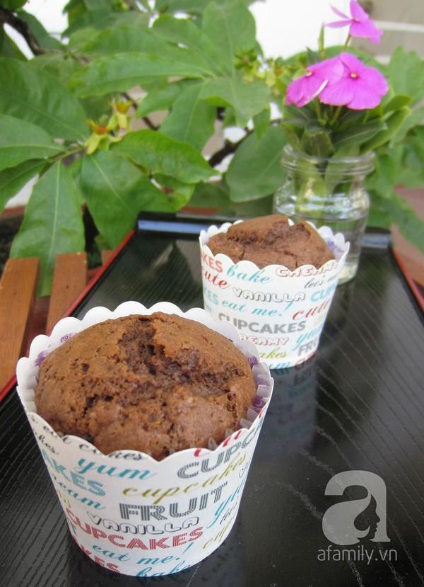 Cách làm món bánh muffin cà phê chocolate siêu hấp dẫn
