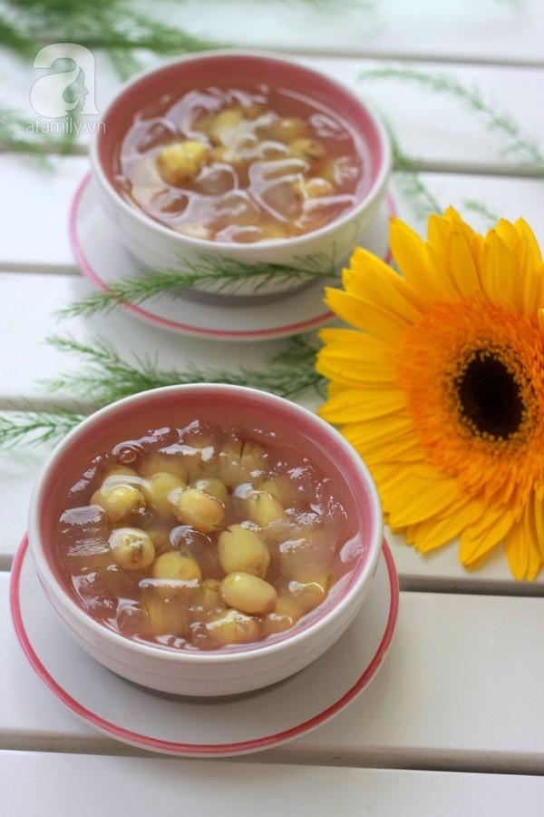 Chè hạt sen nha đam – món ngon tốt cho sức khỏe