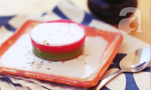 Công thức làm bánh bột năng 3 màu dẻo thơm hấp dẫn