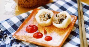 Công thức làm bánh rán mặn siêu ngon cho ngày lạnh