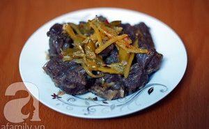 Công thức món ngon cho ngày mát trời: Bò kho khế