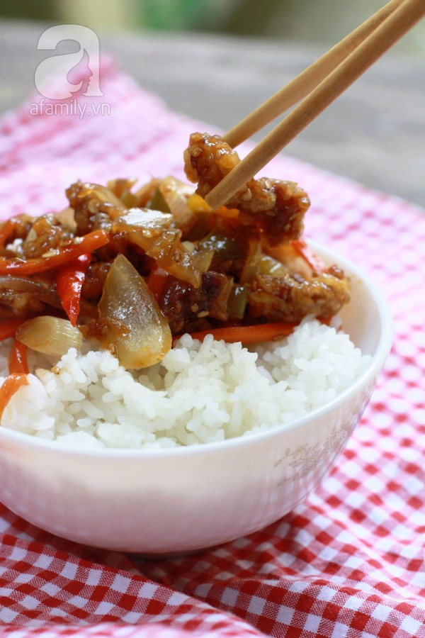 Ngon cơm và bổ dưỡng với công thức món bò chiên giòn