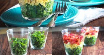 Mách nàng 4 cách bày biện salad cực đẹp