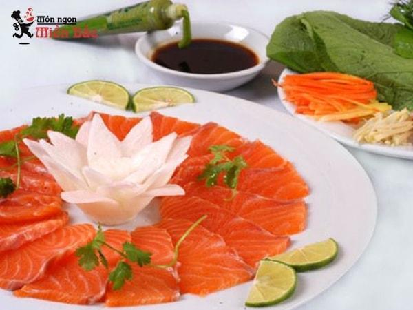 5 món ngon từ cá hồi Sapa