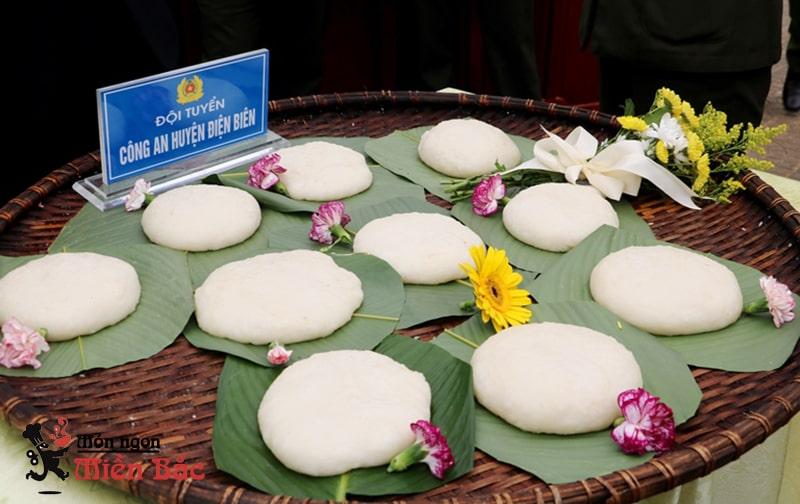 Đặc sản bánh dày Điện Biên