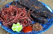 Cách làm món thịt trâu gác bếp Điện Biên 1