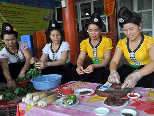 Những điều độc đáo về văn hóa ẩm thực của người Điện Biên