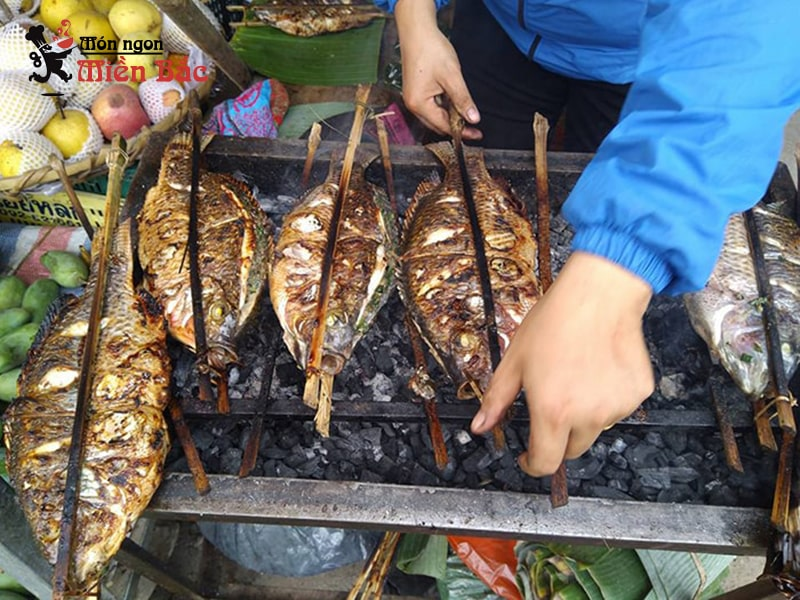 Pa pỉnh tộp là món ăn đặc trưng của người Thái ở Điện Biên