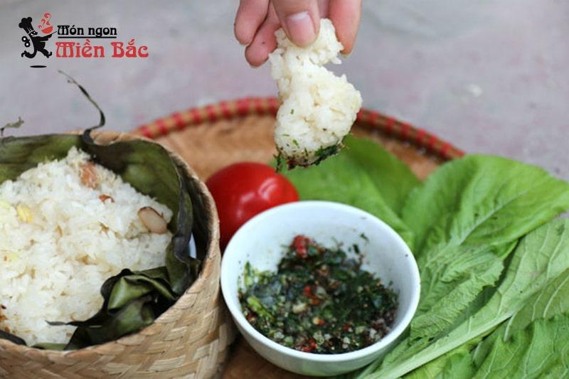 Đặc sản xôi nếp nương của người Thái ở Điện Biên