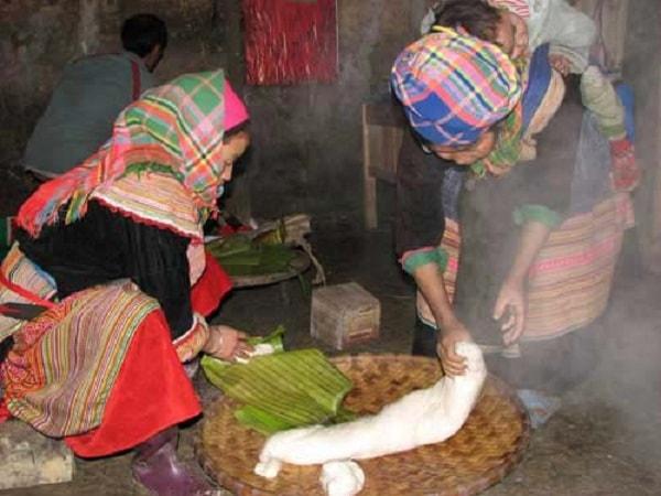 Bánh dày Điện Biên - đặc sản độc đáo của vùng đất Điện Biên 1