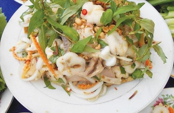 Những món ăn ngon làm từ rau hoa ban Điện Biên 1