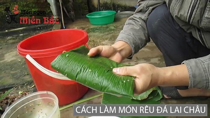 Cách làm món rêu đá nướng Lai Châu