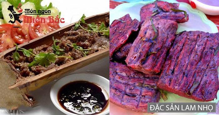 Lam nhọ đặc sản Lai Châu