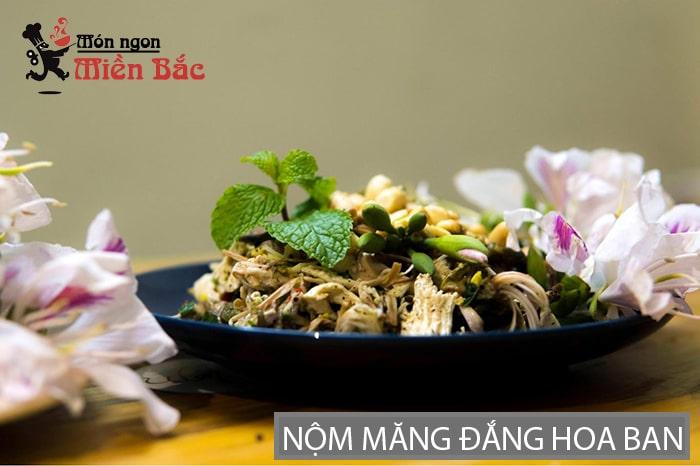 Nộm măng đắng hoa ban đặc sản Lai Châu