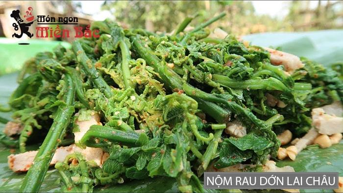 Nộm rau dớn đặc sản Lai Châu