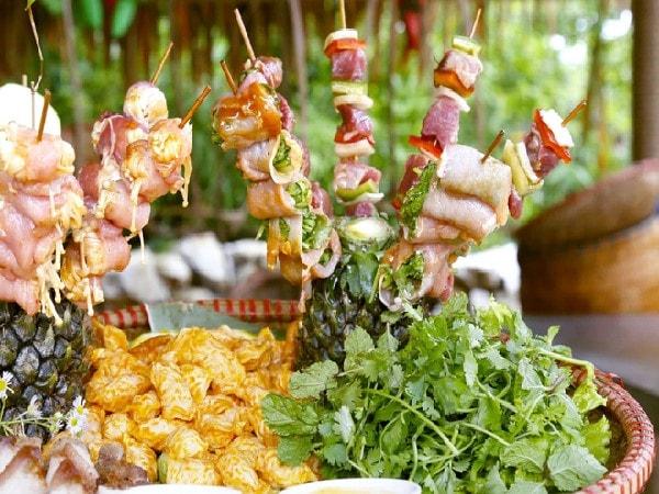 quán ăn Tây Bắc ở Hà Nội