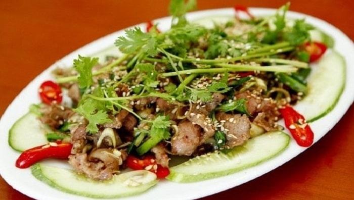 Món thịt dê của nhà hàng Hoàng Giang