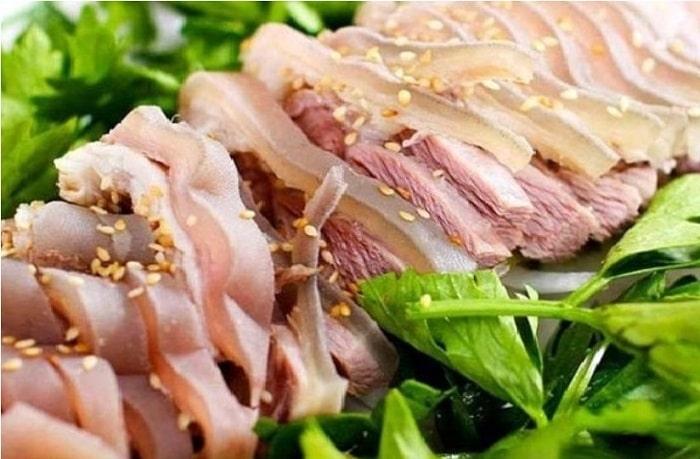 Thịt dê của nhà hàng Thăng Long có chất lượng tuyệt vời với nhiều cách chế biến