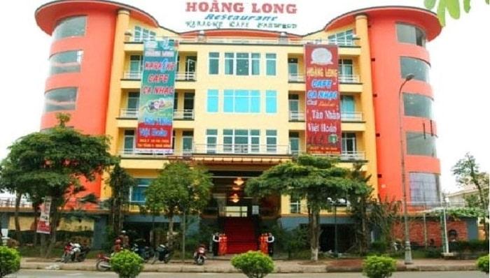 Hình ảnh nhà hàng rộng lớn Hoàng Long