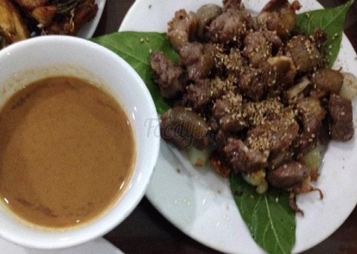 Món thịt dê nổi tiếng của nhà hàng Hương Mai
