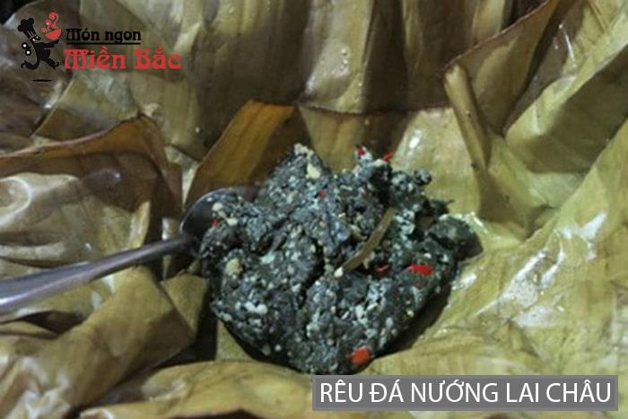 Rêu đá nướng đặc sản Lai Châu