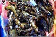 Cách làm món cá bống vùi gio độc đáo của Lai Châu