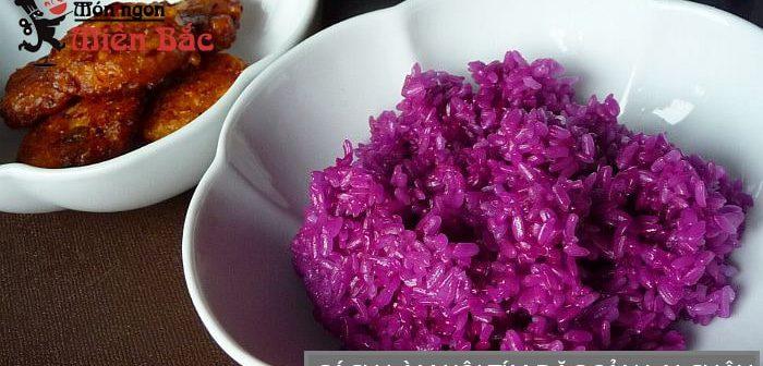 Chỉ 5 phút với cách làm món xôi tím chuẩn vị Lai Châu