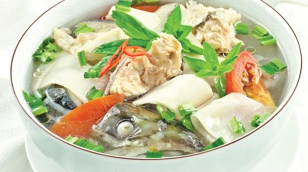 cá tầm nấu canh chua