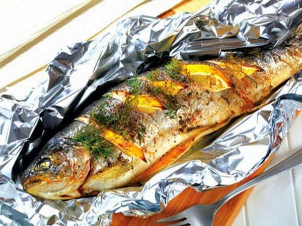 cá tầm nướng giấy bạc 1