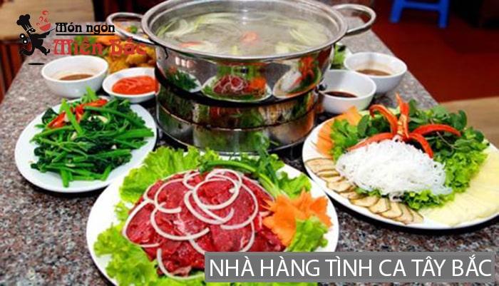 Nhà hàng Tình Ca Tây Bắc ở Lai Châu
