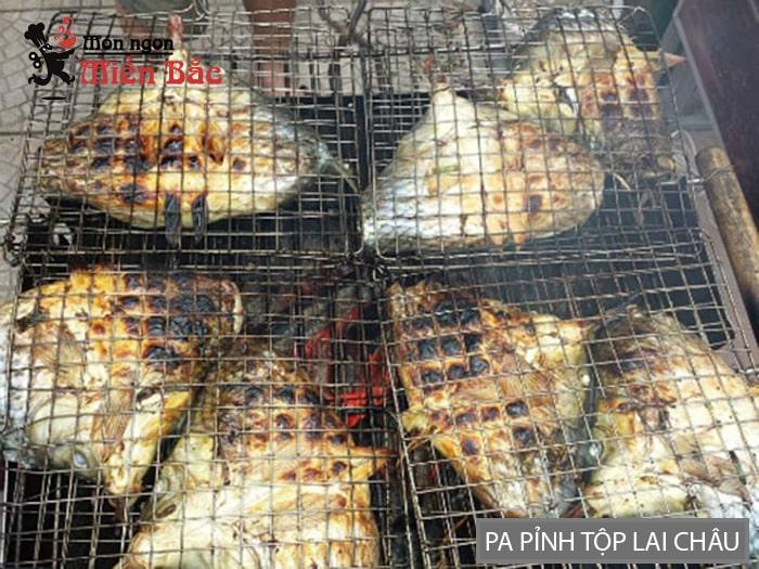 Cá nướng pa pỉnh tộp Lai Châu