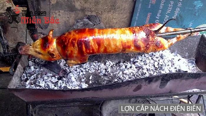 Đặc sản lợn cắp nách Lai Châu