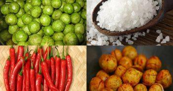 Cách làm sấu dầm muối ớt