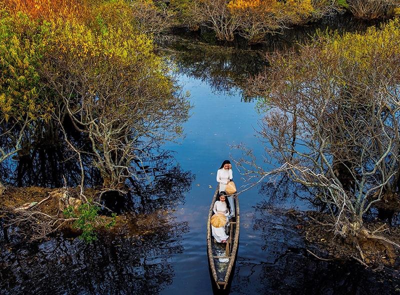 Nên đến Huế vào mùa thu để ngắm phong cảnh đẹp nhất