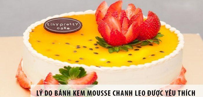 Lý do bánh kem mousse chanh leo được sinh viên Hà thành yêu thích