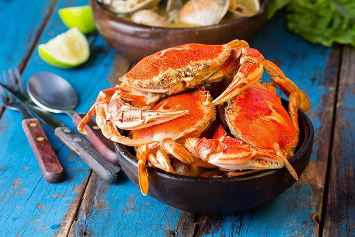 Ăn cua biển có tốt cho bà bầu không?