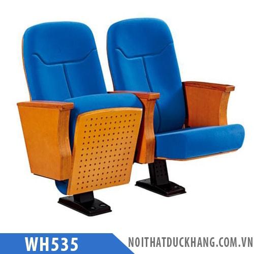 Ghế hội trường WH535 nhập khẩu, lưng ghế cao
