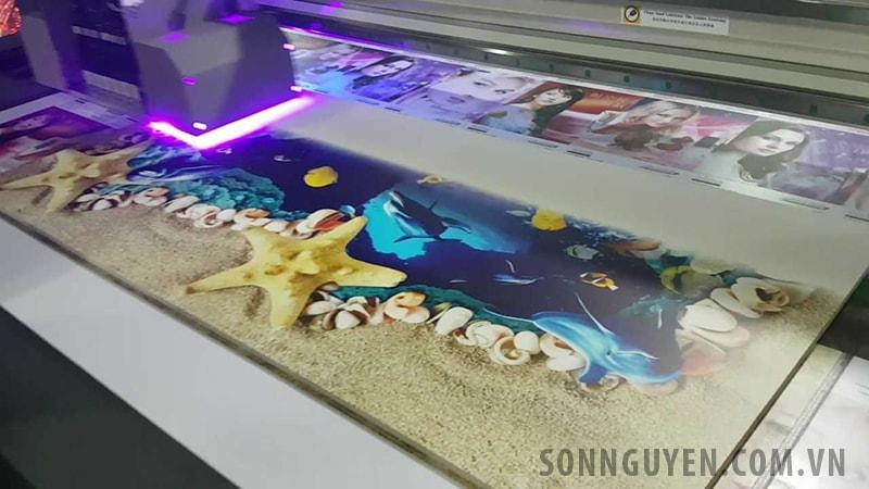 Máy in UV nhỏ để bàn