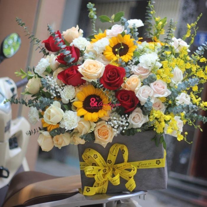 Shop hoa tươi Andyở Mỗ Lao