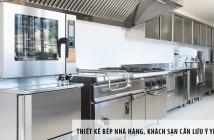 Thiết kế bếp nhà hàng, khách sạn cần lưu ý yếu tố nào?