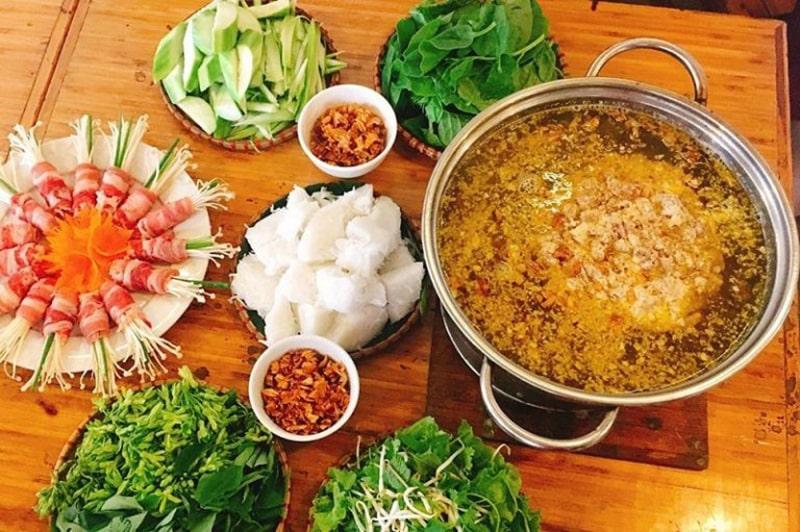 Quán lẩu anh Chín là 1 quán ăn ngon ở Gia Lai