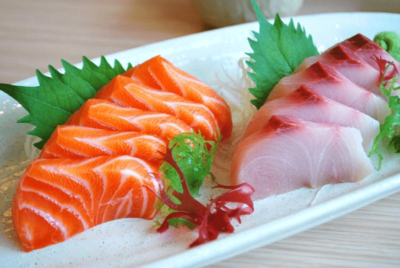 Ăn cá biển giúp cung cấp collagen giúp da đàn hồi, săn chắc, ít nếp nhăn