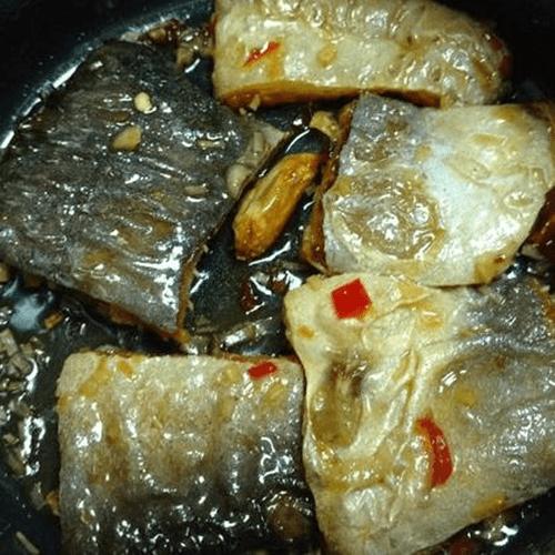 Khô cá dứa 1 nắng chiên đường và giấm